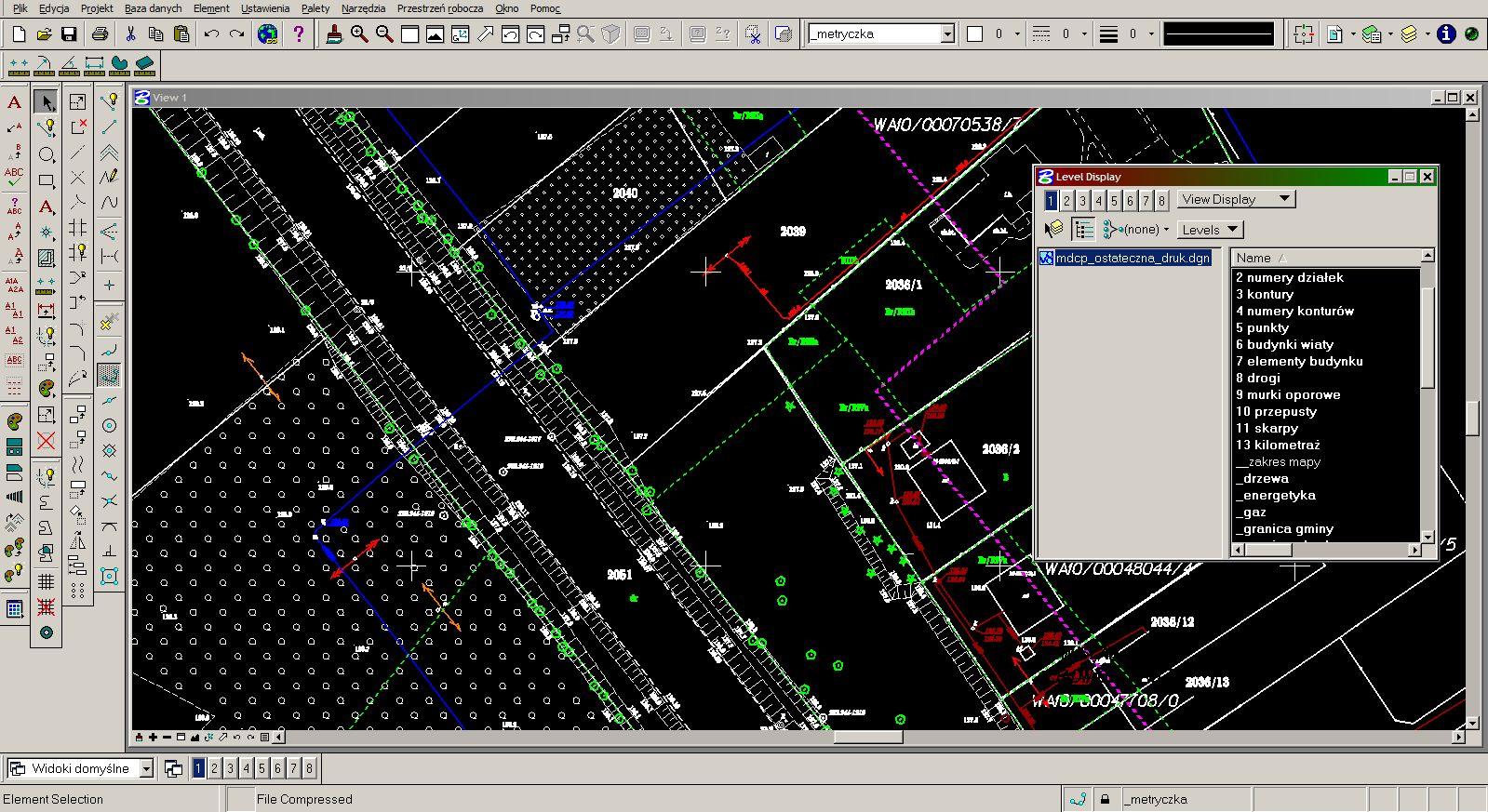 Maps for design purposes